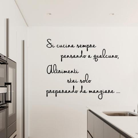 si-cucina-sempre-pensando-a-qualcuno-wall-sticker-adesivo-da-muro